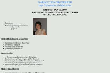 Gabinet psychoterapii - mgr Aleksandra Gołębiewska - Psycholog Elbląg