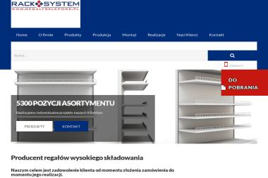RACKSYSTEM - Regały magazynowe Bielsko-Biała