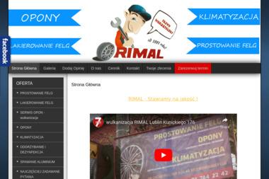 RIMAL - Opony i felgi Lublin