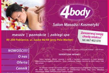 Salon 4body - Zabiegi na cia艂o Pabianice