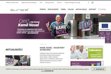 SUNEX S.A. - Energia Odnawialna Racibórz