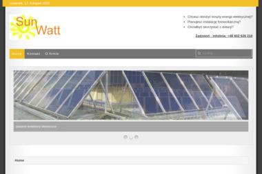 SunWatt - Kolektory słoneczne Łuków