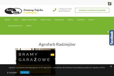 AGRO-FARB - Stolarka Okienna PCV Radziejów