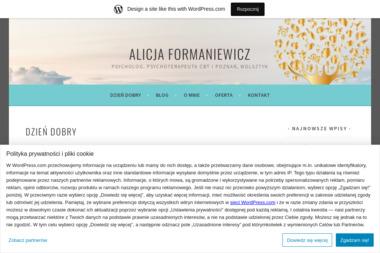 Psycholog, psychoterapeuta - Alicja Formaniewicz - Psycholog Wolsztyn