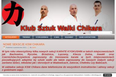 """Klub Sztuk Walki """"Chikara"""" - Sporty walki, treningi Wysoka"""