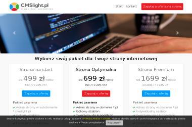CMSlight - Strony internetowe Kolbuszowa
