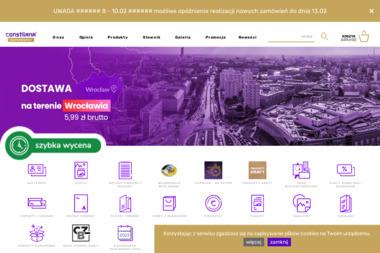 Constilana - Materiały reklamowe Wrocław