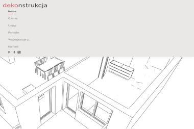 Dekonstrukcja - Projektowanie wnętrz Zamość