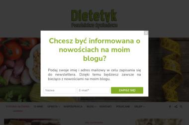 DIETETYK Joanna Wańkowicz - Dietetyk Rogoźno