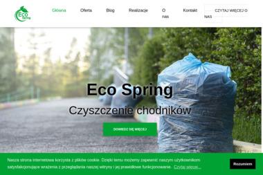 ECO SPRING - Odśnieżanie Legnica