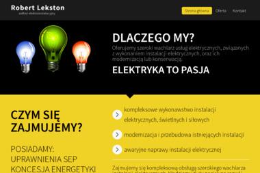 Zakład Elektroinstalacyjny Robert Lekston - Usługi Odśnieżania Gorenice