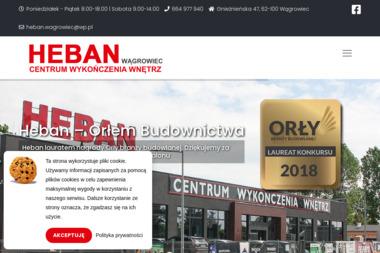 | Heban Centrum - Wyposażenie łazienki Wągrowiec