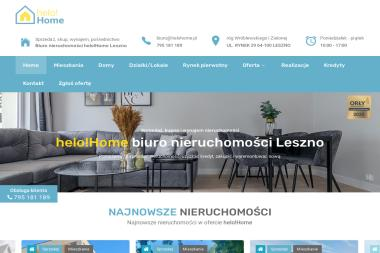 Biuro nieruchomości Helo Home - Wynajem nieruchomości Leszno