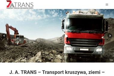 J.A.Trans Usługi Transportowe - Odśnieżanie Stalowa Wola