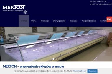 """Zakład Handlowo-Usługowy """"MERTON"""" - Chłodnictwo Przemysłowe Gidle"""