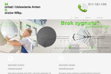 Montaż i Ustawianie Anten - Montaż anten Gorzów Wielkopolski