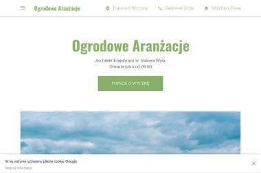 Ogrodowe Aranżacje - Ogród Zimowy na Tarasie Stalowa Wola