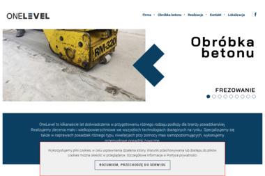 ONELEVEL - Posadzki Przemysłowe Kaszczor