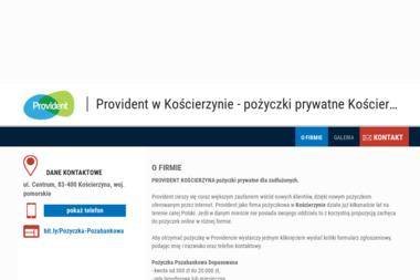Provident w Kościerzynie - Pożyczki bez BIK Kościerzyna