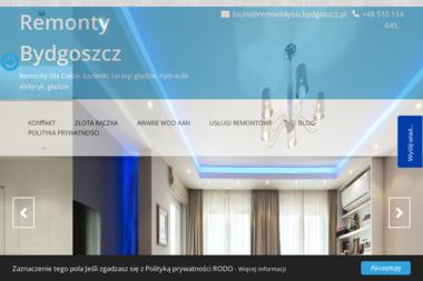 Firma Usługowa Morfeusz - Firma remontowa Bydgoszcz