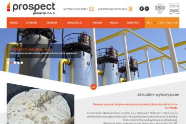 Prospect Group Sp. z o.o. - Odśnieżanie Dachów Jastrzębie-Zdrój