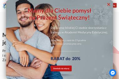 Akademia medycyny estetycznej Ursynów - Zabiegi Ujędrniające Warszawa