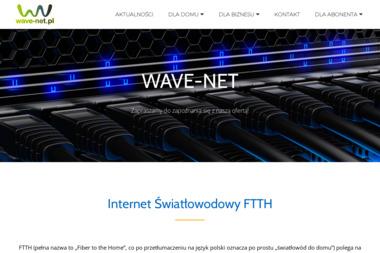 """Firma Handlowo-Usługowa """"WAVE-NET"""" - Internet Nienadówka"""