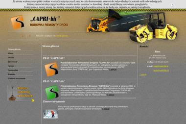 CAPRI-bit - Odśnieżanie dróg i placów Zielona Góra