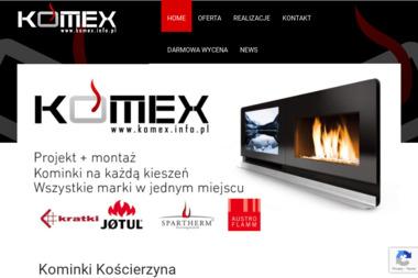 Komex - Kominki Kościerzyna