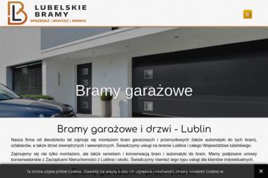 Lubelskie Bramy - Sprzedaż Bram Garażowych Lublin