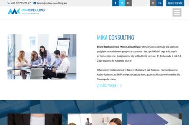 MIKA CONSULTING MONIKA SAJKIEWICZ SP. J - Prowadzenie Ksiąg Rachunkowych Będzin