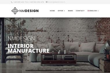 NMDESIGN - Projektowanie wnętrz Węgorzyno