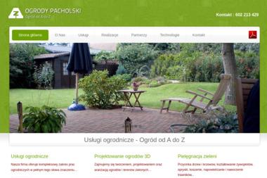 OGRODY PACHOLSKI - Projektowanie ogrodów Dopiewo