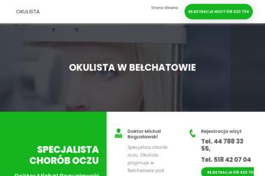 Okulista dr Bogusławski - Okulista Bełchatów