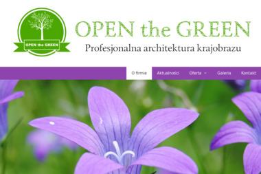 OPEN the GREEN - Projektowanie ogrodów Siedlce