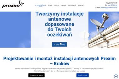 Prexim - Montaż Anteny Kraków
