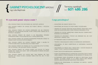 Gabinet psychologiczny Wronki - Psycholog Wronki