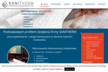 SANITHERM - Projektowanie Instalacji Sanitarnych Olsztyn