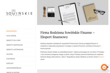 Sowińskie Finanse - Doradca Inwestycyjny Poznań