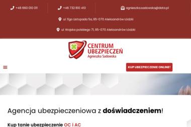 Centrum Ubezpieczeń Agnieszka Sadowska - Ubezpieczenia na życie Aleksandrów Łódzki