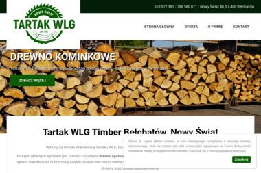 TARTAK WLG BEŁCHATÓW - Trociny i zrębki drzewne Bełchatów