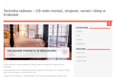Tech-Rad - Montaż Anteny Satelitarnej Kraków