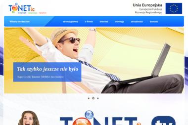 Firma Tonetic - Internet Dobre Miasto