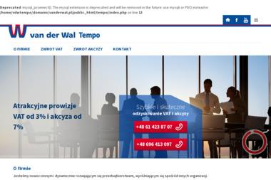 Van der Wal Tempo Sp. z o.o. - Us艂ugi podatkowe Gniezno