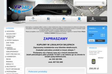 VIPSAT - Montaż Anteny Lublin