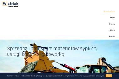Usługi Koparko-Ładowarką Wozniak Zbigniew - Skład budowlany Gdańsk