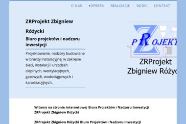 ZR Projekt - Projektowanie Instalacji Wod-kan Biała