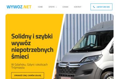 WywózNet - wywóz śmieci Gdańsk - Wywóz Gruzu Gdańsk