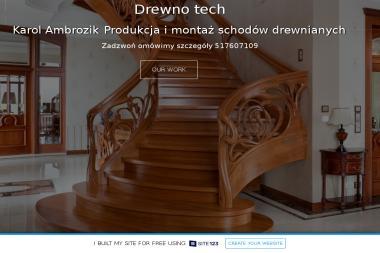 Drewno tech - Schody Kręcone Radomsko