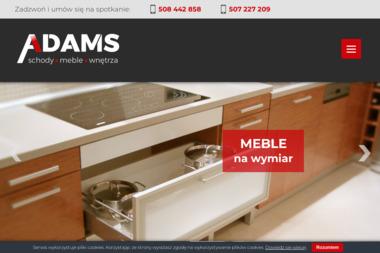 Adams Meble - Schody drewniane Kluczbork
